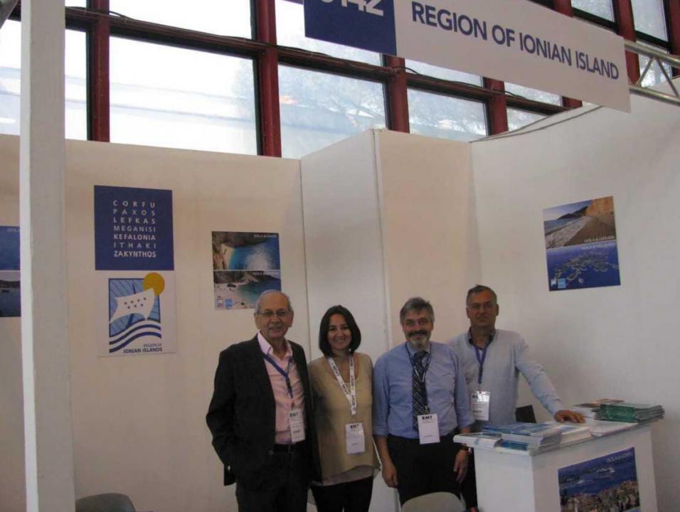 Έκθεση BMT Νάπολη 2017: Αισιόδοξα μηνύματα από την ιταλική αγορά για την Περιφέρεια Ιονίων Νήσων (photo 1)