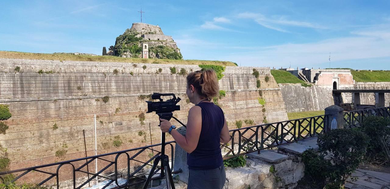 Ο φακός του RAI 3 στο μαγευτικό φρούριο!